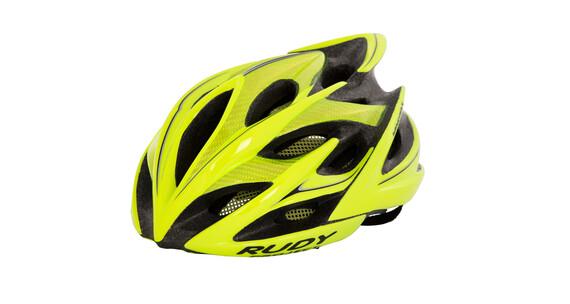 Rudy Project Windmax Helmet Yellow Fluo-Black (Shiny)